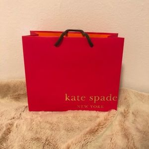 Kate spade paper gift bag